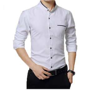 Camisa Hombre Diseño Lineas - Blanco 6db1e08683c4e