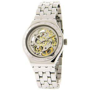 9f6802ad54b4 Reloj Swatch Yas 100g Automatica Plateado