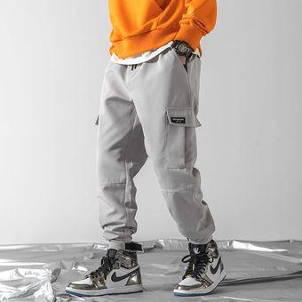 Jovenes Hombres Streetwear Joggers De Hip Hop Pantalones Harem Hombres Mono Gris Pantalones De Wt Linio Chile Ge018fa0dh3rblacl