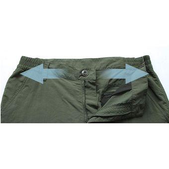 Pantalones De Senderismo De Secado Rapido Para Exterior Pantalones De Verano Para Hombre Pantalones De Pesca