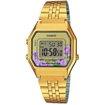 Compra Reloj Casio Para Dama LA680WGA-4C Color Dorado online  e190e3bd256f