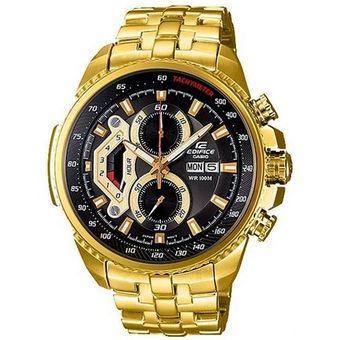 5739847f767d Compra Reloj Casio Edifice EF-558FG-1AV Analógico Hombre - Dorado Y ...
