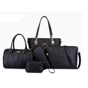 523d5b99e Bolso de moda de cinco piezas para dama - negro