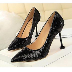 1273255c Zapatos de tacon Generic Mujer-Negro