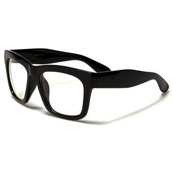 Agotado Gafas Monturas Oftálmicas Marco Tipo Wayfarer Nerd Para Lentes  Formulados Filtro UV - NERD003h 510fdbfee54