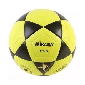 1ebe79aacfc21 Balon De Futbol Profesional Mikasa AMARILLO CON NEGRO