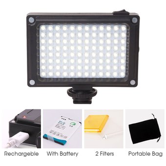 Geles De Color Selens 3000K-5500K Mini LED Luz de video USB Recargable Luz De Relleno
