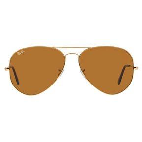 Gafas De Sol Ray Ban Aviator 3025 001 33 - Dorado   Café Talle M e6716e2f8d29