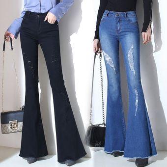 Pantalones Acampanados Mujer Tienda Online De Zapatos Ropa Y Complementos De Marca
