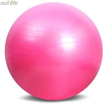 Compra Bola de la yoga del gimnasio del PVC de Outlife (Púrpura ... e82f57601603
