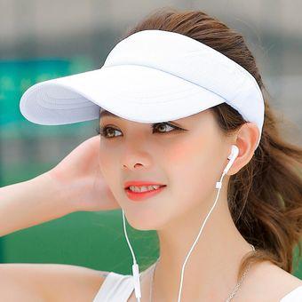 a42dfa1b1dc65 Gorra Para Correr Estudiante Visera Sombrero Para El Sol Sombrero Mujer