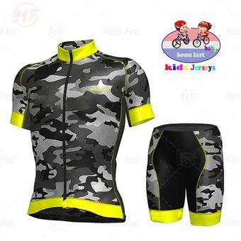 Jersey De Ciclismo Verde Fluorescente Para Ninos Ropa Para Bicicleta De Montana Ropa Deportiva Para Ninos Juego De Ropa Para Ciclismo Short Sleeve Set 2 Linio Peru Un055sp160uftlpe