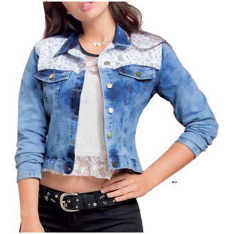 a47ba8d893c2c Compra Chaqueta Juvenil Marketing Personal Para Mujer -Azul online ...