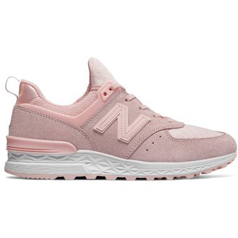 tenis new balance mujer rosado