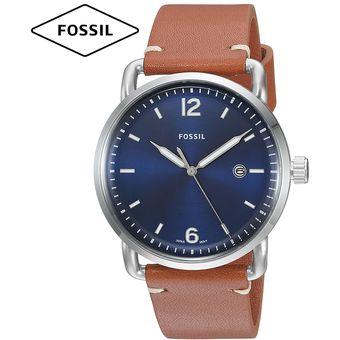 1cf7746deb92 Compra Reloj Fossil The Commuter FS5325 Correa De Cuero - Azul ...