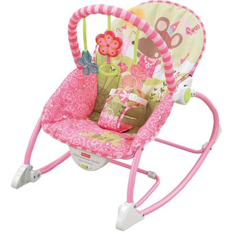 Compra bouncer la princesa rat n fisher price silla for Silla mecedora para bebe