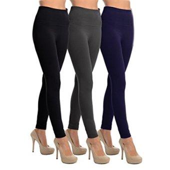f6b506fef Compra Leggins Pantalon Termico Combo X 3 Negro Gris Azul online ...