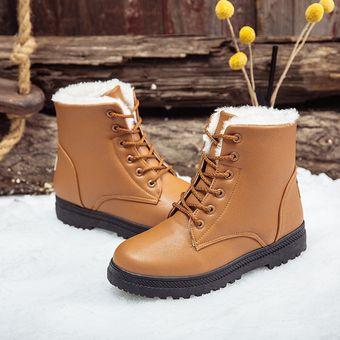 Botines impermeables Botas invierno cálido nieve botas mujeres