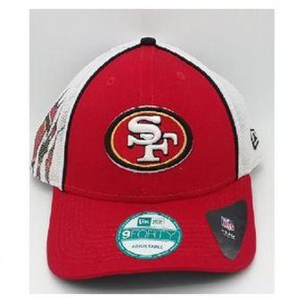 2e329a26e933a Compra Gorra New Era Trucker Tear Classic San Francisco 49ers Negro ...