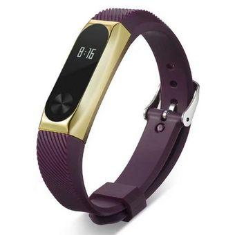 41727650e903 Pulsera De Recambio Para Xiaomi Band 2-Purple + Golden