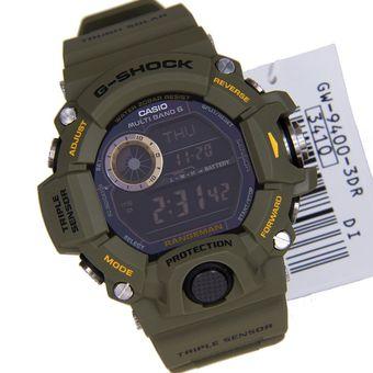c516eaf78dd3 Compra RELOJ CASIO Casio G-Shock GW-9400-3 VERDE MILITAR online ...