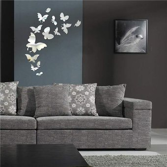 modaling mariposa hermosa combinacin de pegatinas de pared espejos decorativos pegatinas de pared bricolaje