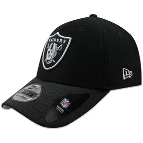 ad9b8309f841e Gorra New Era 39 Thirty NFL Raiders Popped Shadow Negro