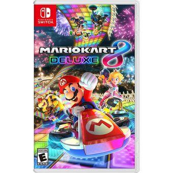 Juego Mario Kart 8 Deluxe Nuevo Nintendo Switch