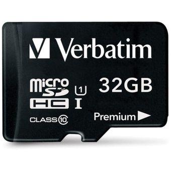 Tarjeta De Memoria Micro SD Verbatim Hc 32gb