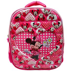 97ac94813 Maleta Morral Minnie Disney Pasta Dura Relieve Escolar