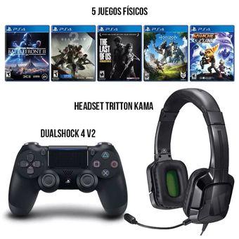 Control Ps4 Sony Headset 5 Juegos Nuevos Envio Gratis Knasta