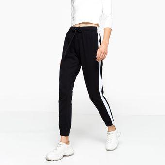 Pantalon Jogger Sybilla Para Mujer Negro Linio Mexico Sy592fa040fb1lamx