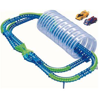 6aaff7ffb2 Compra Pista Autos Sensor de Onda Spiral Frenzy Speedway Wave Racer ...