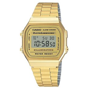 e0f708537795 Casio - Reloj A168WG-9W Vintage Illuminator Unisex