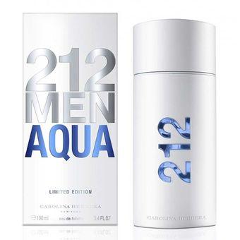 bc451a2fde5ec Compra Perfume 212 Men Aqua By Carolina Herrera 100 Ml online ...