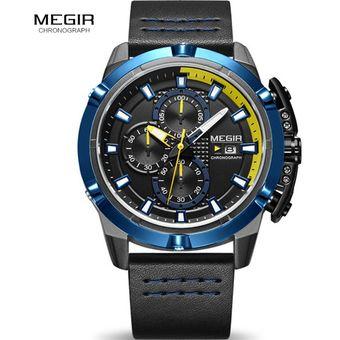 9bc5e5ca54be Compra Reloj Hombre Megir 2062A Cronografo Deportivo Fechador online ...