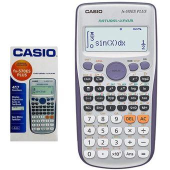 028c4c6aa8f4 Compra Casio Calculadora Cientifica FX-570es PLUS online