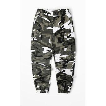 Nuevo Babero Mono Con Pantalones Largos High Street Militar Camuflaje Rosa Gris Pantalones Hip Hop Linio Peru Un055fa147t2xlpe