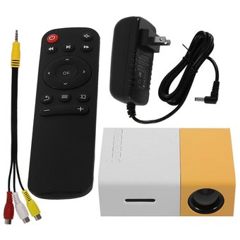 YG300 Professional Mini proyector LCD Full HD 1080P LED LCD Proyector de cine en casa
