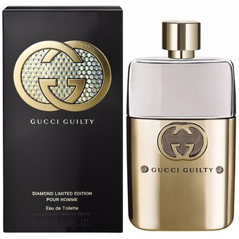 Compra Gucci Guilty Pour Homme Diamond 90 ml. EDT MEN - Gucci online ... ae489b66753