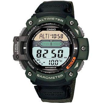 Barómetro Sgw300 Lona Casio Reloj Termómetro Altímetro Outgear clKJF1