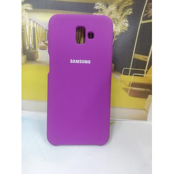 timeless design 54c47 c9f3f Estuche Silicone Case Para Galaxy J6 Plus 2018-Morado