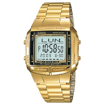 Reloj Casio Retro Databank DB 360G 9A Dorado