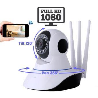 60947b08803 Compra Camara Seguridad Robotica IP Wifi Vigilancia FULLHD 1080P PTZ ...