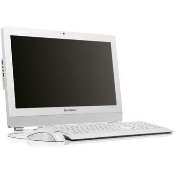 Todo En Uno Lenovo S200z Celeron Ram 4gb Disco 1TB 19 Pulgadas Linux Blanco
