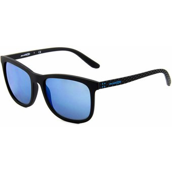 comprar online 1115f 978af Lentes Arnette Chenga Matte Black / Blue Mirror AN4240 01/55
