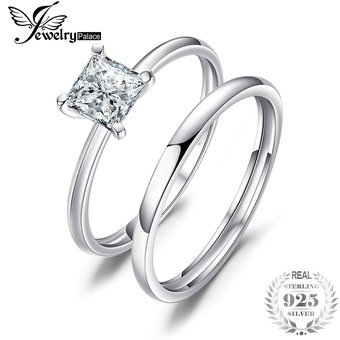 8671bfc6a765 Compra Anillo De Compromiso Jewelrypalace Circonio Cúbico 925 Plata ...