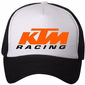 Compra Gorra Negra Frente Blanco Ktm Racing online  dff684f18a7