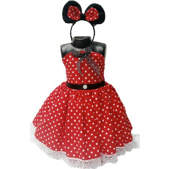Vestidos de minnie mouse