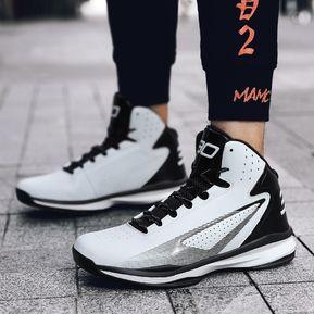 promo code 5b85b 6a2db Zapatillas De Baloncesto Unisex-Blanco con Negro